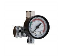 Регулятор давления воздуха с манометром Iwata Impact Controller 2