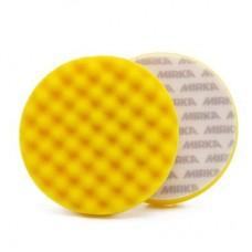 Полировальник желтый поролоновый рельефный Mirka Ø135 мм