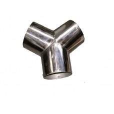 Тройник из нержавеющей стали Horex HZ 16.4.075 (75мм)
