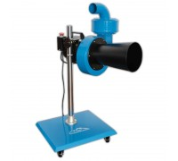 Вентилятор центробежный для вытяжки выхлопных газов на штативе (900 м³/час)