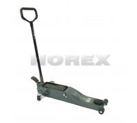 Домкрат подкатной гидравлический Horex 2.0 т (75-520 мм)