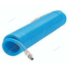 Шланг воздушный спиральный полиуретановый NORDBERG HS1010PU (Ø10х14мм, 10м)