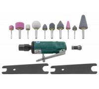 Бормашинка пневматическая JONNESWAY JAG-0903FMK (120 мм) с насадками
