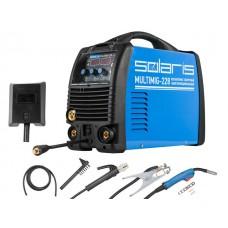 Полуавтомат сварочный Solaris MULTIMIG-228 (MIG-MMA-TIG)