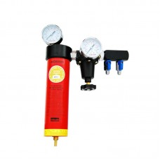 Воздушный фильтр с манометром ITALCO AC6001 (полный аналог SATA, 1 колба)