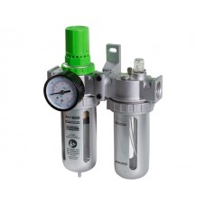 Фильтр воздушный ECO AU-02-12 с регулятором давления и маслораспылителем