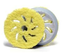 Полировальник Rupes из микрофибры Ø130/150 мм (желтый)
