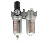 Фильтр-лубрикатор с воздушным редуктором Huberth (1000 л/мин)