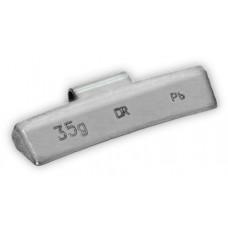 Грузик балансировочный для литых дисков 35 г