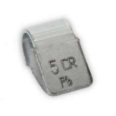 Грузик балансировочный для стальных дисков 5 г
