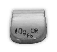 Грузик балансировочный для стальных дисков 10 г