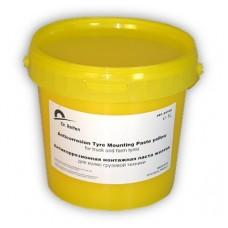 Монтажная паста для грузовой техники желтая (1 л)