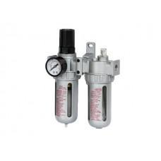 Фильтр воздушный ECO AU-02 с регулятором давления и маслораспылителем